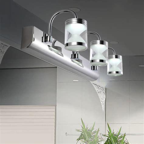 modern  led acrylic bathroom front mirror lights