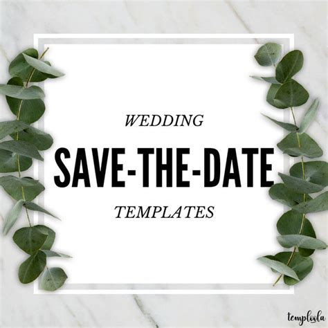 Free Wedding Save The Date Templates 8 Best Wedding Save The Date Templates Images On