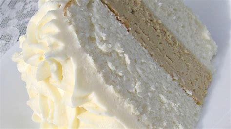 White Almond Wedding Cake Recipe