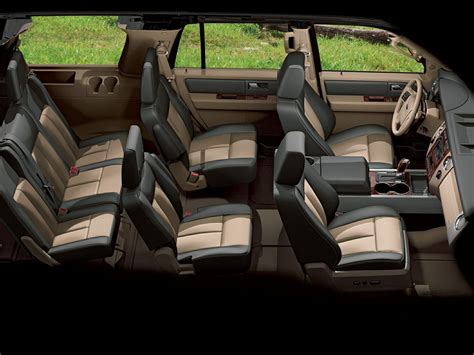 suvs comfortably seat  passengers ford expedition ford