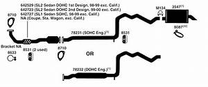 Saturn Sw Series Exhaust Diagram From Best Value Auto Parts