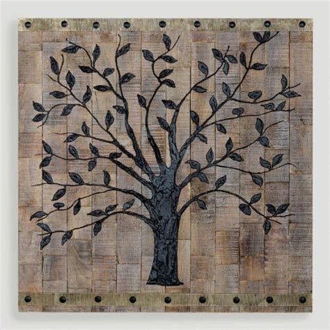 Tree Wall Decor With Pictures by Tree Of Wall Decor World Market