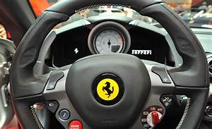 Car Steering Wheel Ferrari