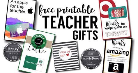 printable teacher   cards ideas paper trail