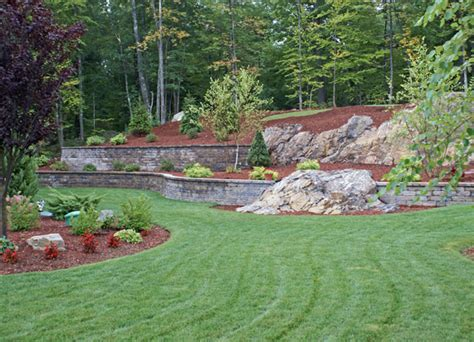 lawn landscaping pictures landscape construction photos groundhog landscaping
