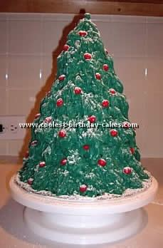 coolest tree shaped christmas cakes and how to tips