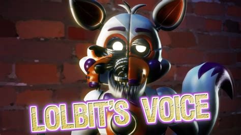 lolbits voice clip fnaf ucn  canon characters sfm