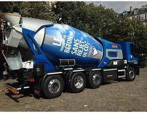 Prix Du Beton En Toupie : un nouveau camion toupie z ro co2 pour livrer le b ton ~ Premium-room.com Idées de Décoration