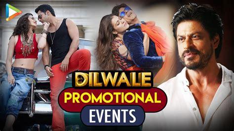 dilwale promotional  shahrukh khan kajol kriti