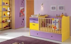 Chambre Bebe Jaune : chambre fille jaune mxs01 slabtownrib ~ Nature-et-papiers.com Idées de Décoration