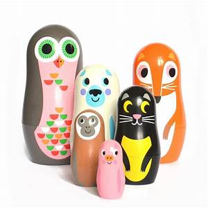 Leo & Bella OMM Design Studio Matryoshka Nesting Dolls