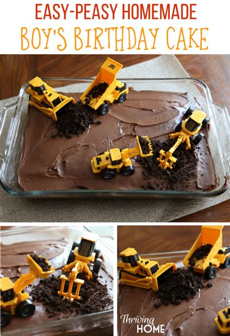construction cake ideas diy boy s birthday cake construction thriving home 3026