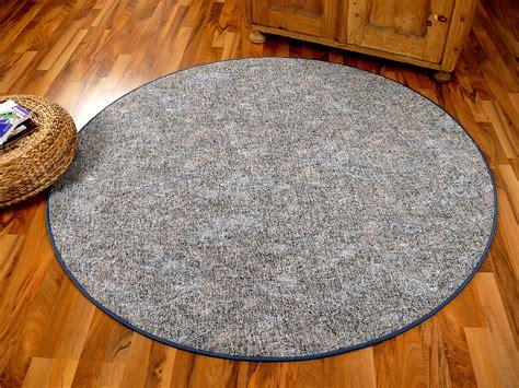 schlingen teppich memory grau blau meliert rund in 7 gr 246 223 en kaufen bei teppichversand24