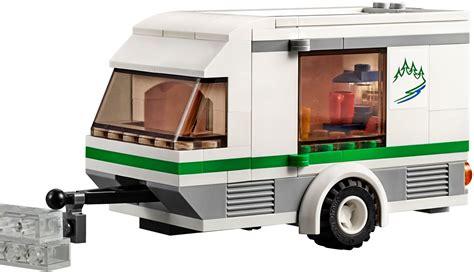 rv cuisine lego city 60117 pas cher la camionnette et sa caravane