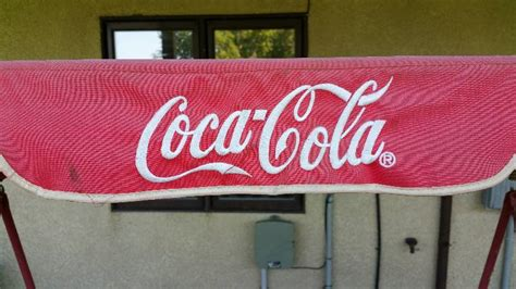 metal quot always quot coca cola metal outdoor swing lifelong