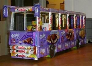 Geschenk Für Schwester Selber Machen : auto aus s igkeiten basteln geschenk bus schokolade ~ Buech-reservation.com Haus und Dekorationen