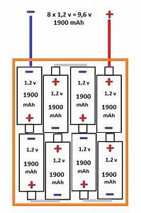 Batterie En Serie : fabrication d 39 une batterie 9 6v 5600mah energie robot maker ~ Medecine-chirurgie-esthetiques.com Avis de Voitures