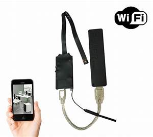 Wirelees Wifi Spy Camera Module With 2500mah Rechargable