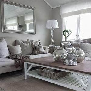 Wohnzimmer Dekoration Silber