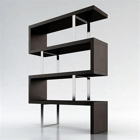 modloft pearl modular wood bookcase  wenge modern