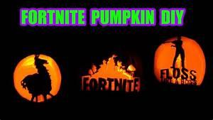 Pumpkin Carving Designs 2018 Diy Fortnite Pumpkin Carving How To Youtube
