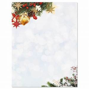 holiday sparkle christmas letter papers current catalog With holiday letter paper