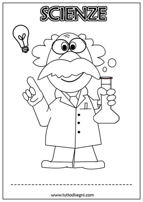 disegni per cover copertine scienze da colorare tutto disegni class