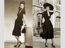 1940s Fashion – The American Look vs Dior 1947 Glamourdaze