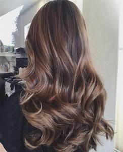 Balayage Cheveux Frisés : balayage cheveux marron caramel les meilleurs mod les coiffure simple et facile ~ Farleysfitness.com Idées de Décoration