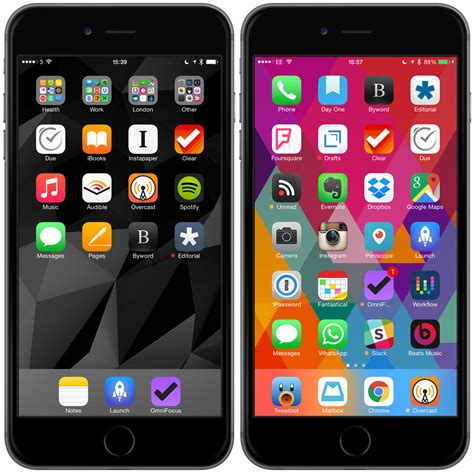 iphone home organizing your iphone homescreen techdissected
