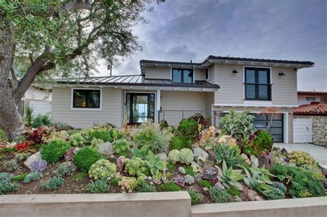 succulent front yard home landscaping ideas to inspire your own curbside appeal