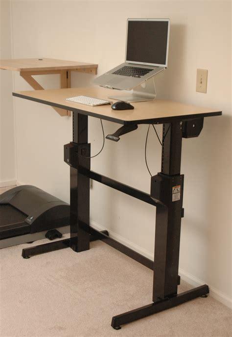 Diy Adjustable Standing Desk Computer Standing Desk Idea Would You Use a Standing Computer Desk?