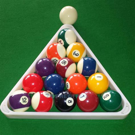 How To Rack In Pool - 8 plastic snooker pool billiard table rack triangle
