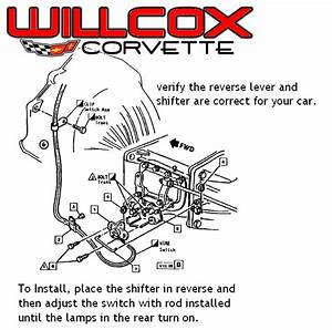 Corvette Back Up Lamp Switch Installation 1968