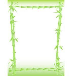 Bamboo Border Clip Art Free