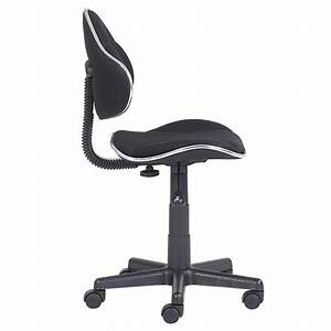 Fauteuil De Bureau Enfant : fauteuil de bureau enfant alondra noir noir mobil meubles ~ Teatrodelosmanantiales.com Idées de Décoration