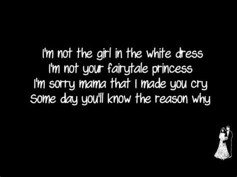 halestorm white dress lyrics youtube