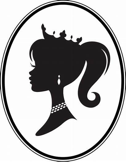 Princess Silhouette Clipart Vinyl Clipground Wall Decal