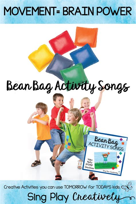 Join miss dana on the dance floor and get some exercise! Bean Bag Activities are a great way to include movement into your Music, PE, Special Needs ...