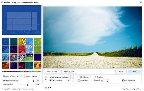 personnaliser bureau windows 8 personnaliser l 39 écran d 39 accueil sous windows 8 avec