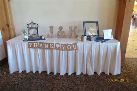 Table Of Tables by Wedding Gift Tables Valley Animal Adventure