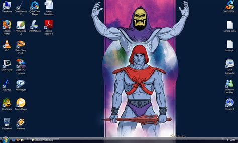 skeletor controls my desktop by jukkart on deviantart