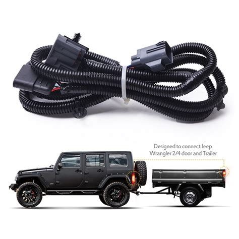 Car Accessories Interior Trailer Hitch Wiring Harness
