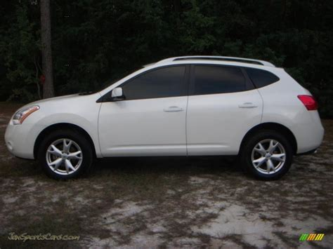 nissan 2008 white 2008 nissan rogue s in phantom white pearl 302916 jax