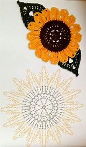 Crochet Sunflower Pattern  U22c6 Crochet Kingdom