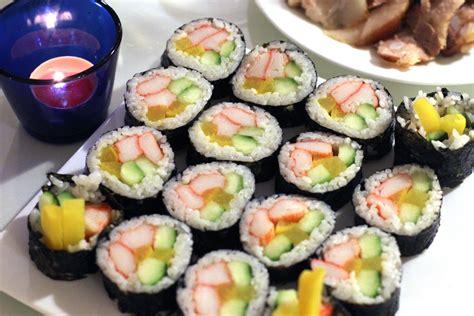 korean kimbap beef kimbap recipe dishmaps