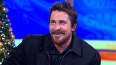 Christian Bale Wife Talked Him Into American Hustle