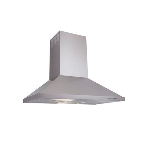 kitchen hood fan home depot 30 in stainless steel duct cover for wall mounted range
