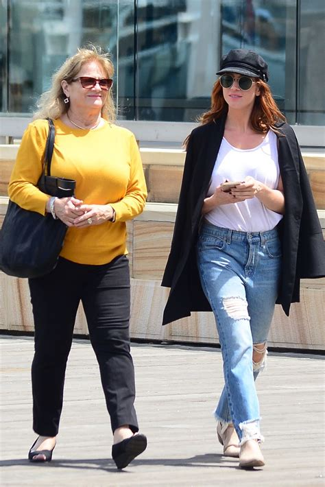 Brittany Snow in Ripped Jeans - Out in Sydney, Australia ...