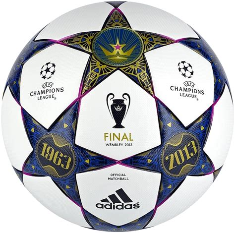 UEFA Champions League 2013 Wembley Final Matchball Leaked ...